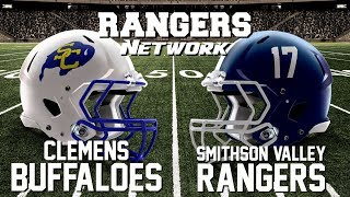 Rangers Network Presents Live Radio Broadcast - Clemens Buffaloes vs Smithson Valley Rangers