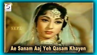 Ae Sanam Aaj Yeh Qasam Khayen | Lata   - YouTube
