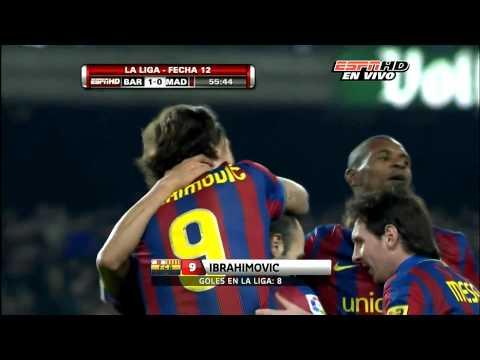 BARCELONA VS REAL MADRID HD GOL ZLATAN IBRAHIMOVIC