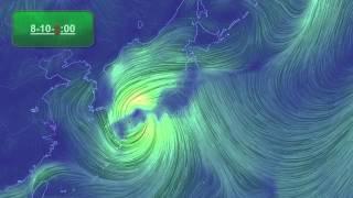 台風情報台風11号ハーロンの進路予想図米軍
