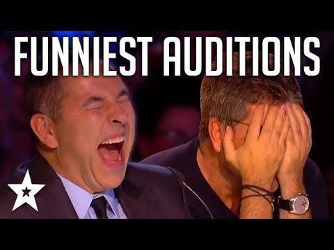 TOP 10 FUNNIEST Auditions And Moments EVER On Britain's Got Talent! | Got Talent Global (видео)