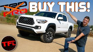 Don't Buy a New Toyota Tacoma TRD PRO, Buy This Instead! by The Fast Lane Truck