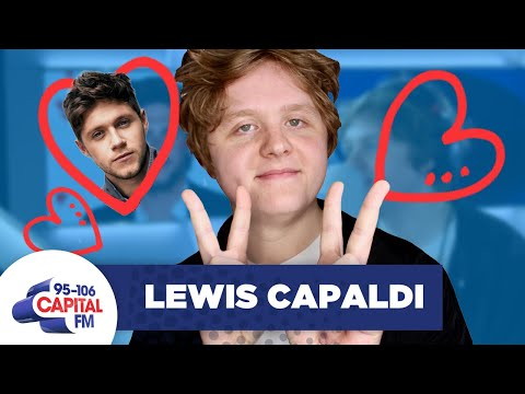 Lewis Capaldi Gushes Over Bromance With Niall Horan 👨‍❤️‍👨 | FULL INTERVIEW
