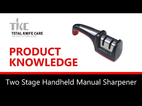 Product Knowledge/Demo - 2 STAGE MANUAL SHARPENER