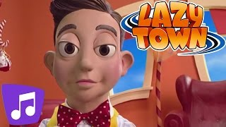 Lazy Town | The Mine Song | Music Video | Kids Karaoke
