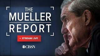 Mueller report: Justice Department releases special counsel report, live stream and analysis