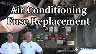 Air Conditioning Fuse Replacement