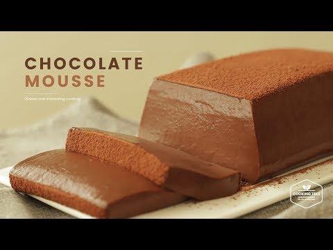 노오븐&노젤라틴! 초콜릿 무스케이크 만들기