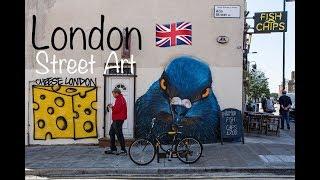 The Best Street Art in London Camden Town !!!
