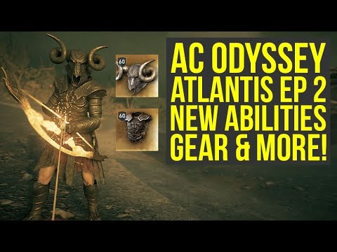 Assassin's Creed Odyssey Fate of Atlantis NEW ARMOR & ABILITIES In Depth Look (AC Odyssey Atlantis)
