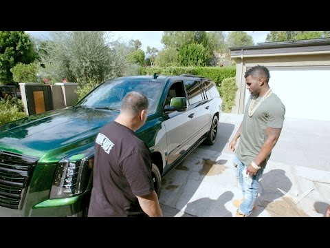Jason Derulo Meets His Escalade