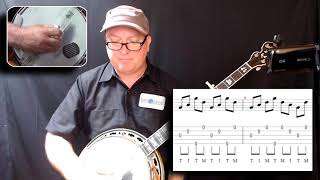 An awesome workout for Rolls on the banjo!