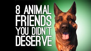 8 Animal Besties Who Were Way More Helpful Than You Deserved - dooclip.me