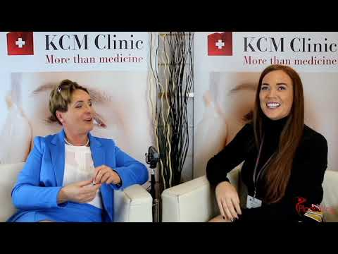 KCM Clinic UK Branch Manager talks to Surgeon and Meets Her Patients