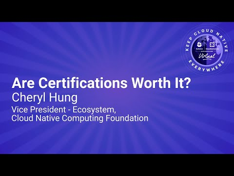 Image thumbnail for talk Keynote: Are Certifications Worth It?