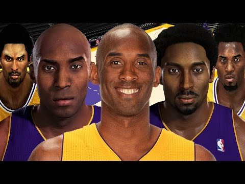 Kobe Bryant From NBA 2K to NBA 2K17