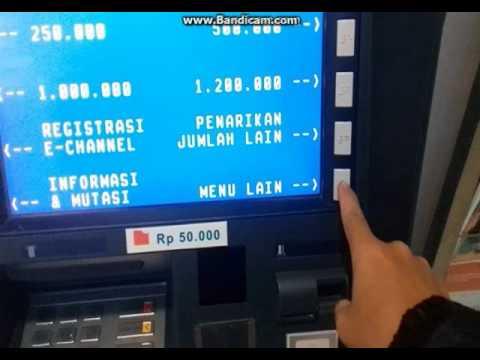 Cara transfer via ATM Bni ke Bni