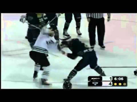 Tyler Barr vs. David Segal