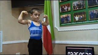 Пятилетний силач из Чечни- претендент в Книгу рекордов Гиннеса