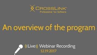 CrossLink 2018: An overview of the program