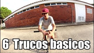 Tutorial 6 trucos básicos en scooter!!!  Scoot Tricks