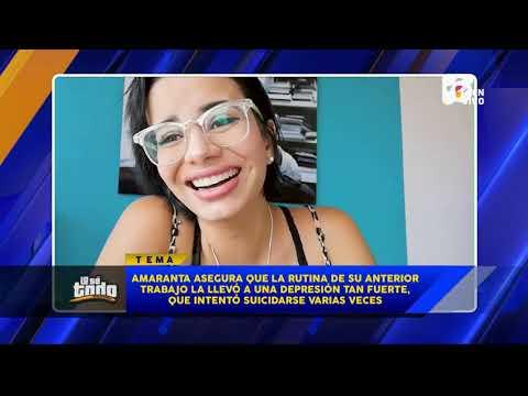 Lo Se Todo - La actriz porno Amaranta Hank confiesa que ha pensado en quitarse la vida