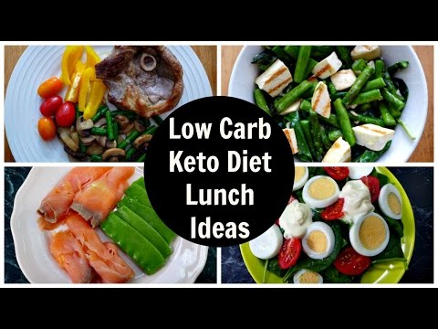 Video 7 Low Carb Lunch Ideas - Keto Diet Lunch Recipes