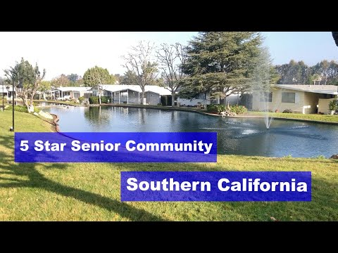5 Star Senior Community Clubhouse in Southern California