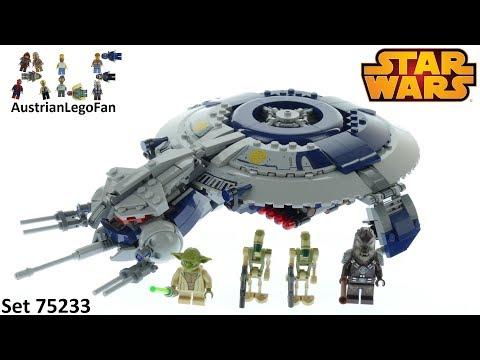 Vidéo LEGO Star Wars 75233 : Canonnière droïde