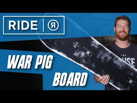 2018 Ride War Pig Snowboard – Review – TheHouse.com