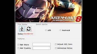 Asphalt 8 Airborne Hack Tool