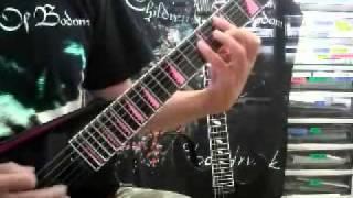 Children Of Bodom Needled 24/7 Guitar Cover [HQ version]