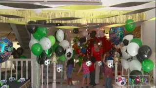 Soccer Theme Birthday Party Ideas from Party City