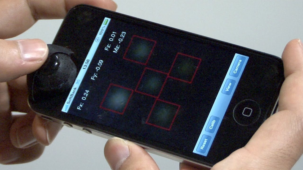 Elastic Joystick Uses Your Phone's Camera To Make Mobile Gaming Less Crappy