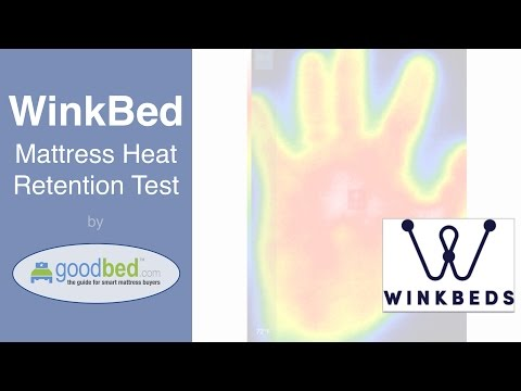 WinkBed Mattress Heat Retention Test (VIDEO)