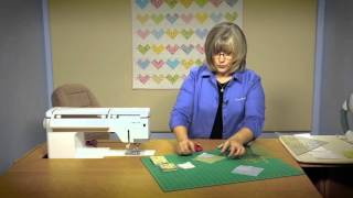 Quilting Quickly: Sweethearts - Baby Quilt Pattern