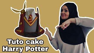 TUTO CAKE HARRY POTTER