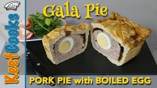 How To Make Gala Pie | Long Egg Series