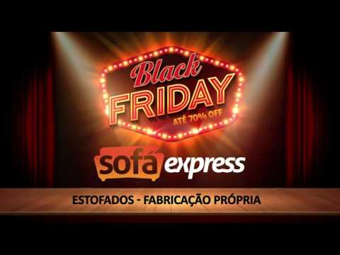 SOFÁ EXPRESS - Vt BLACK FRIDAY