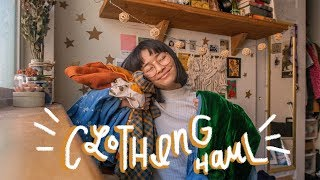 clothing haul 👖🌟 // thrifted + vintage-styled
