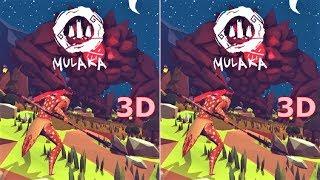 3D VR video Mulaka 3D SBS VR box google cardboard