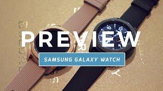 Samsung Galaxy Watch preview (Dutch)