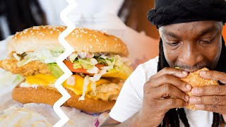 Battle of the Spicy Chicken Sandwiches at Church's Chicken T&T | jadeeeats
