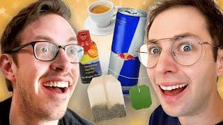The Try Guys EXTREME Caffeine Taste Test • Zach's Tea ep2