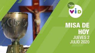 Misa de hoy ⛪ Jueves 2 de Julio de 2020, Padre Fabio Alonso Gómez - Tele VID