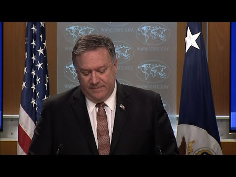 Secretary of State Mike Pompeo says the U.S. will revoke or deny visas to International Criminal Court personnel who attempt to investigate alleged abuses committed by U.S. forces in Afghanistan or elsewhere. (March 15)