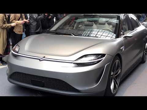 SONYの電気自動車「VISON-S」が市販に向け一般に初公開