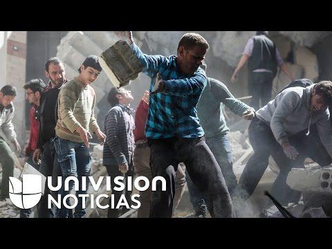 Las escenas de horror que dejó un ataque químico en Siria