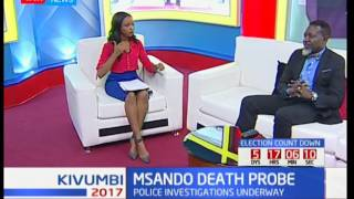 The Dawn Debate : Msando's Death Probe