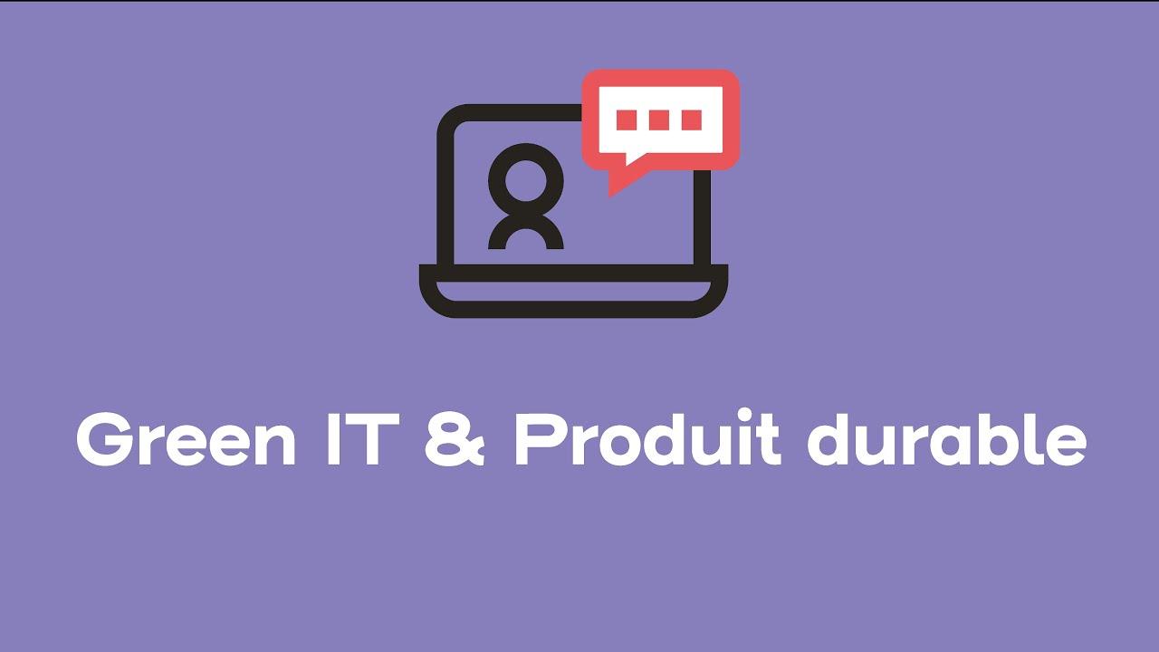 Green IT & Produit/application durable | Webinars